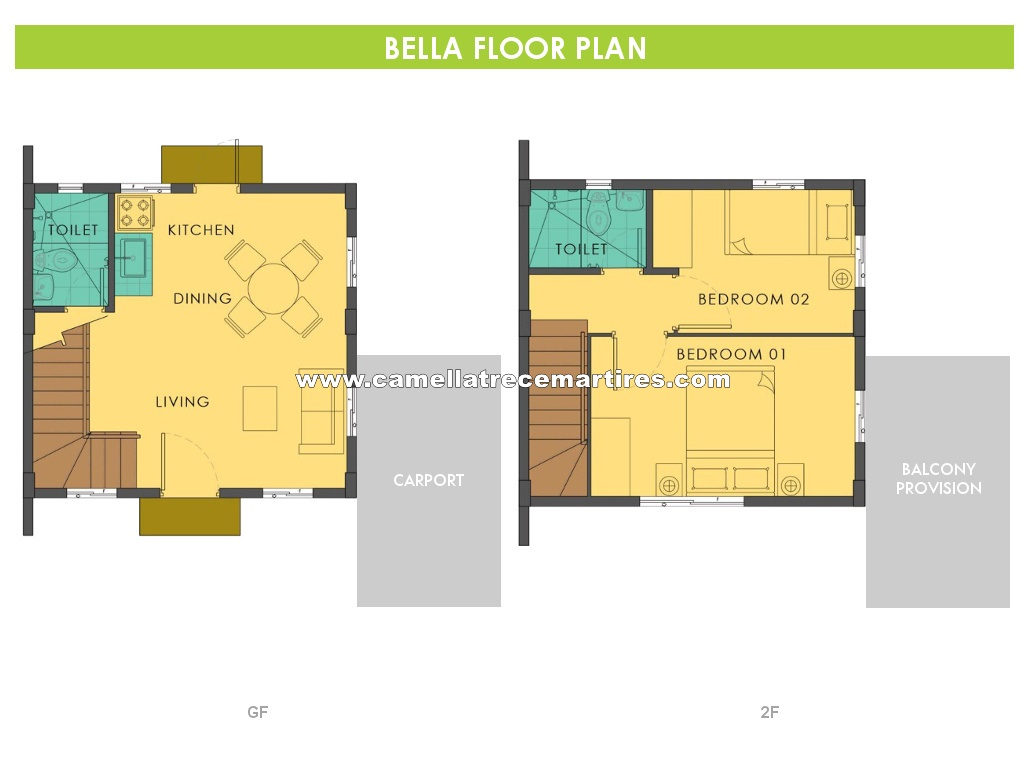 Bella  House for Sale in Trece Martires Cavite