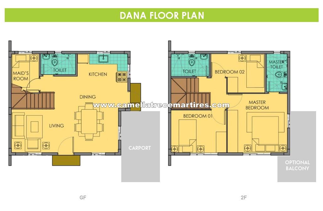 Dana  House for Sale in Trece Martires Cavite