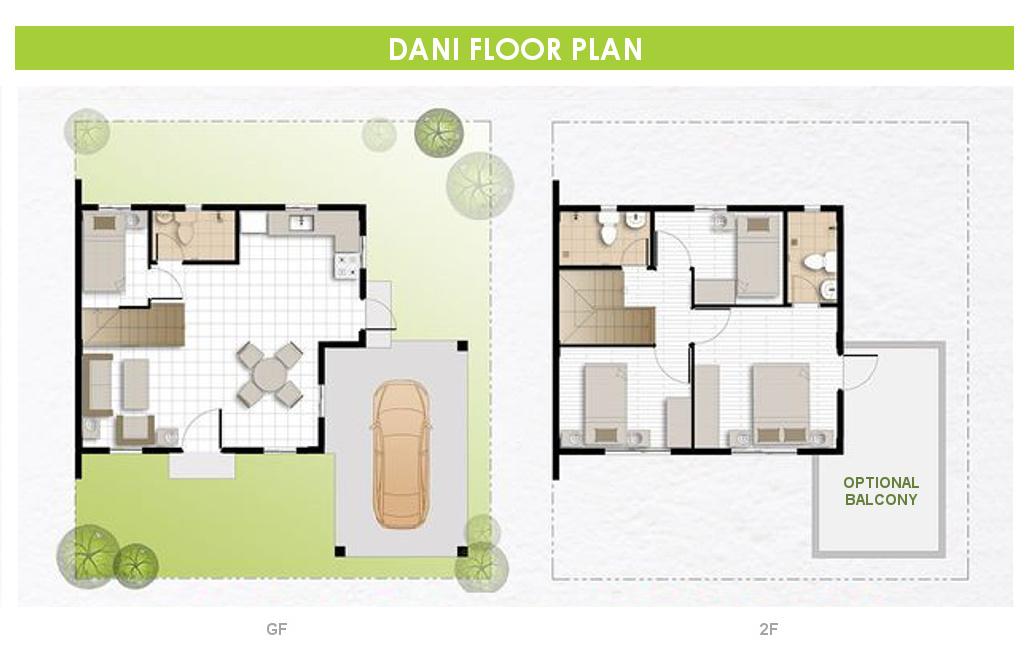 Dani  House for Sale in Trece Martires Cavite