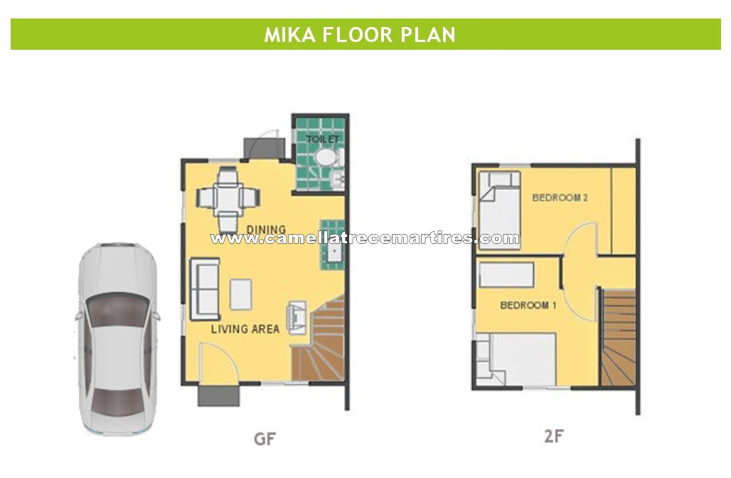 Mika  House for Sale in Trece Martires Cavite