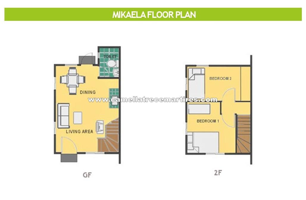 Mikaela  House for Sale in Trece Martires Cavite