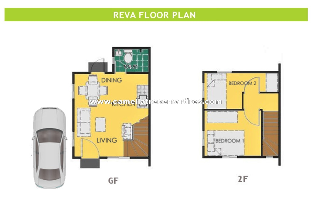 Reva  House for Sale in Trece Martires Cavite