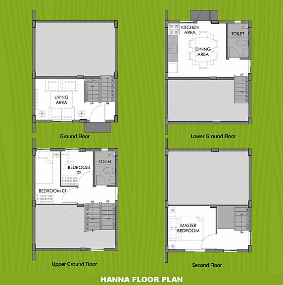 Hanna Floor Plan House and Lot in Trece Martires