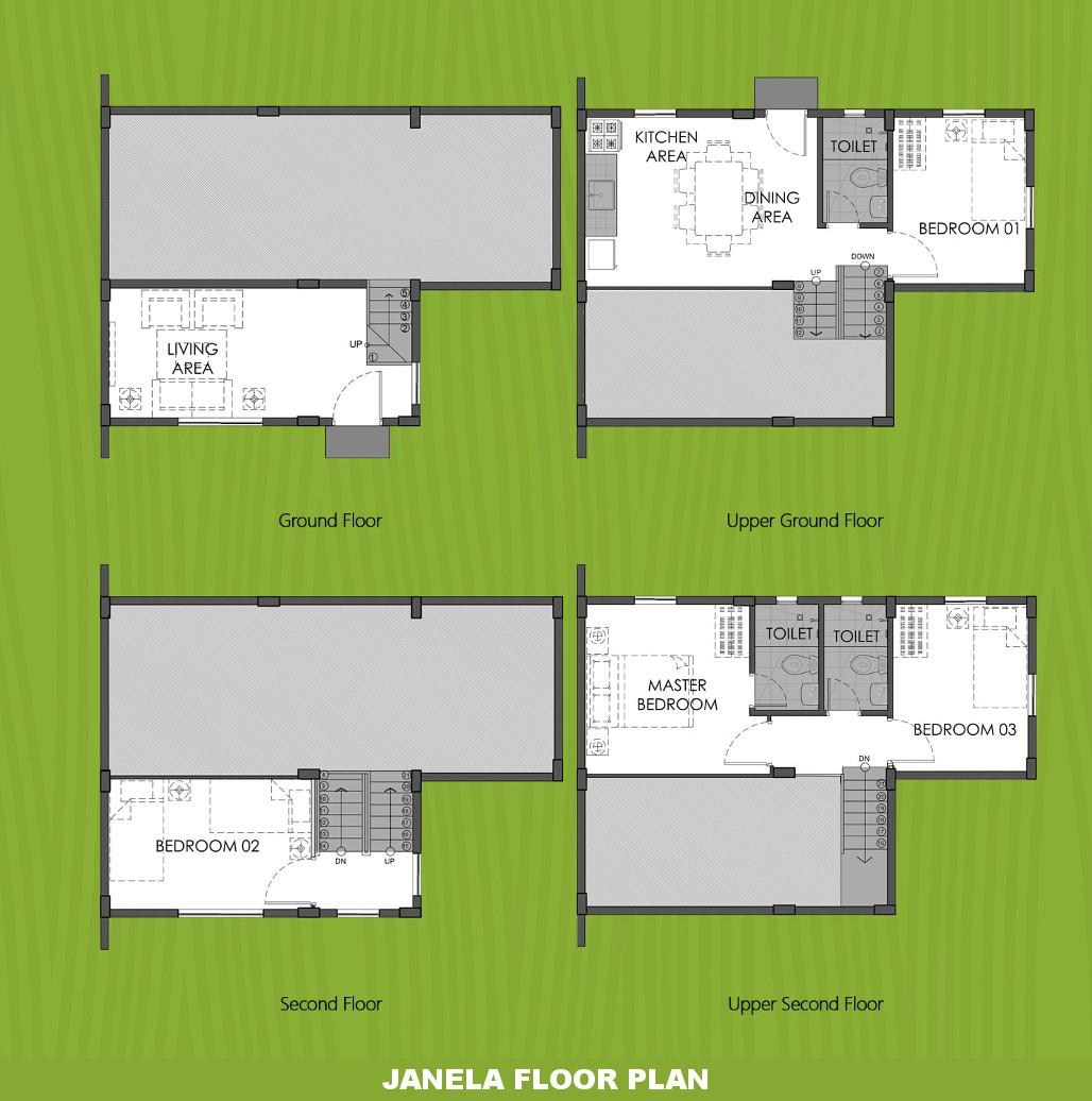 Janela  House for Sale in Trece Martires Cavite