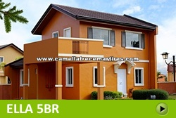 Ella House and Lot for Sale in Trece Martires Cavite Philippines