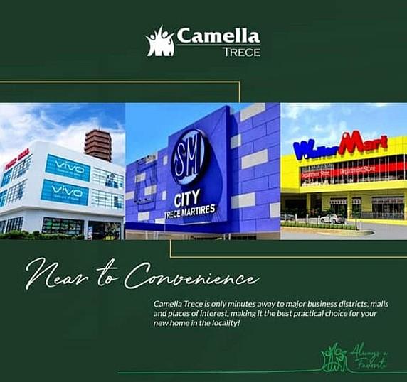 News regarding Camella Trece Martires.