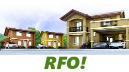 RFO Units for Sale in Camella Trece Martires.